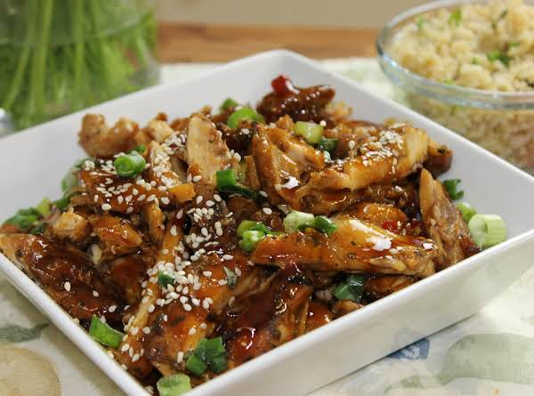Teriyaki Sesame Seed Chicken Thighs Just A Pinch Recipes