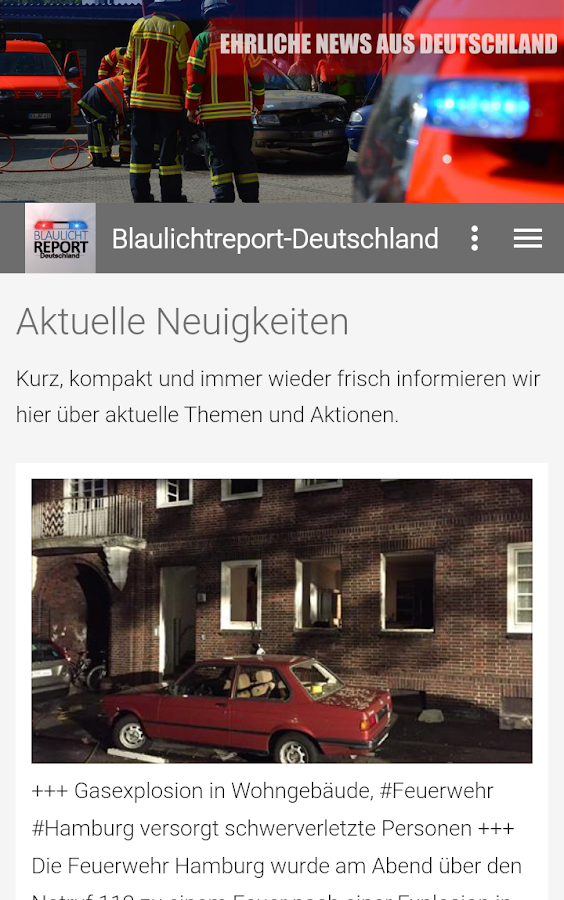 Blaulichtreport-Deutschland- screenshot