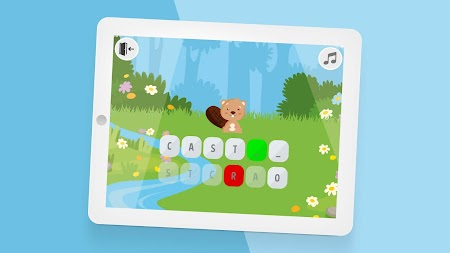 Krakeln: alphabet learning abc preschool game APK screenshot thumbnail 2