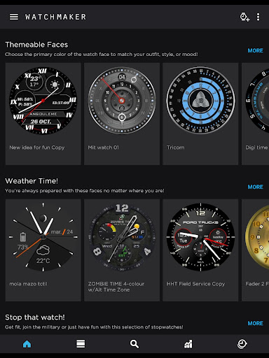 Watch Face -WatchMaker Premium for Android Wear OS - screenshot