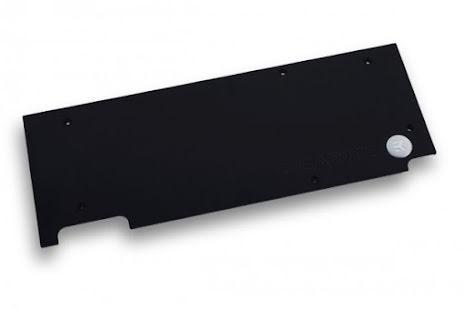 EK bakplate for EK-FC1080 GTX G1 Backplate, sort