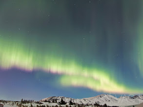 Photo: Northern Lights from Flattop Anchorage, Alaska March 8th 2012