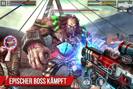 Zombie Spiele : DEAD TARGET - PLAGUE Screenshot