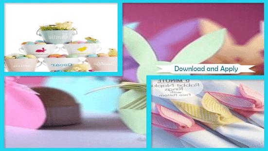 Beautiful Styrofoam Easter Critters Napkin Rings - náhled