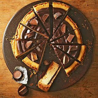 Chocolate-Peanut Butter Cheesecake.