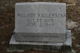 Photo: Malinda Rhoden Raulerson daughter of Riley Rhoden and Sussetta Altman / Granddaughter of Rachel Rhoden / Wife of Noah Jackson Raulerson