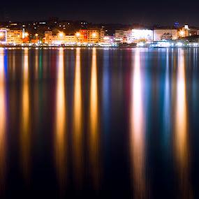reflection by Yılmz Doğn - City,  Street & Park  Night