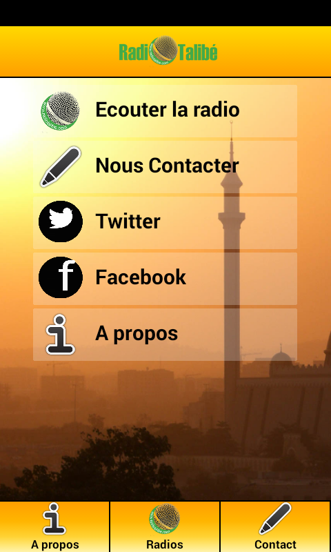 Radio Talibé- screenshot