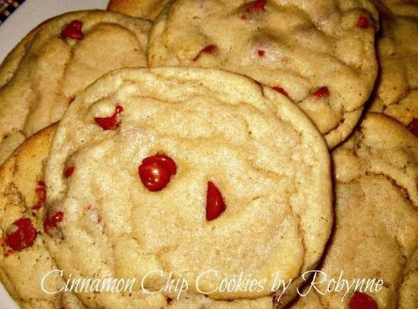 Cinnamon Chip Cookies Recipe