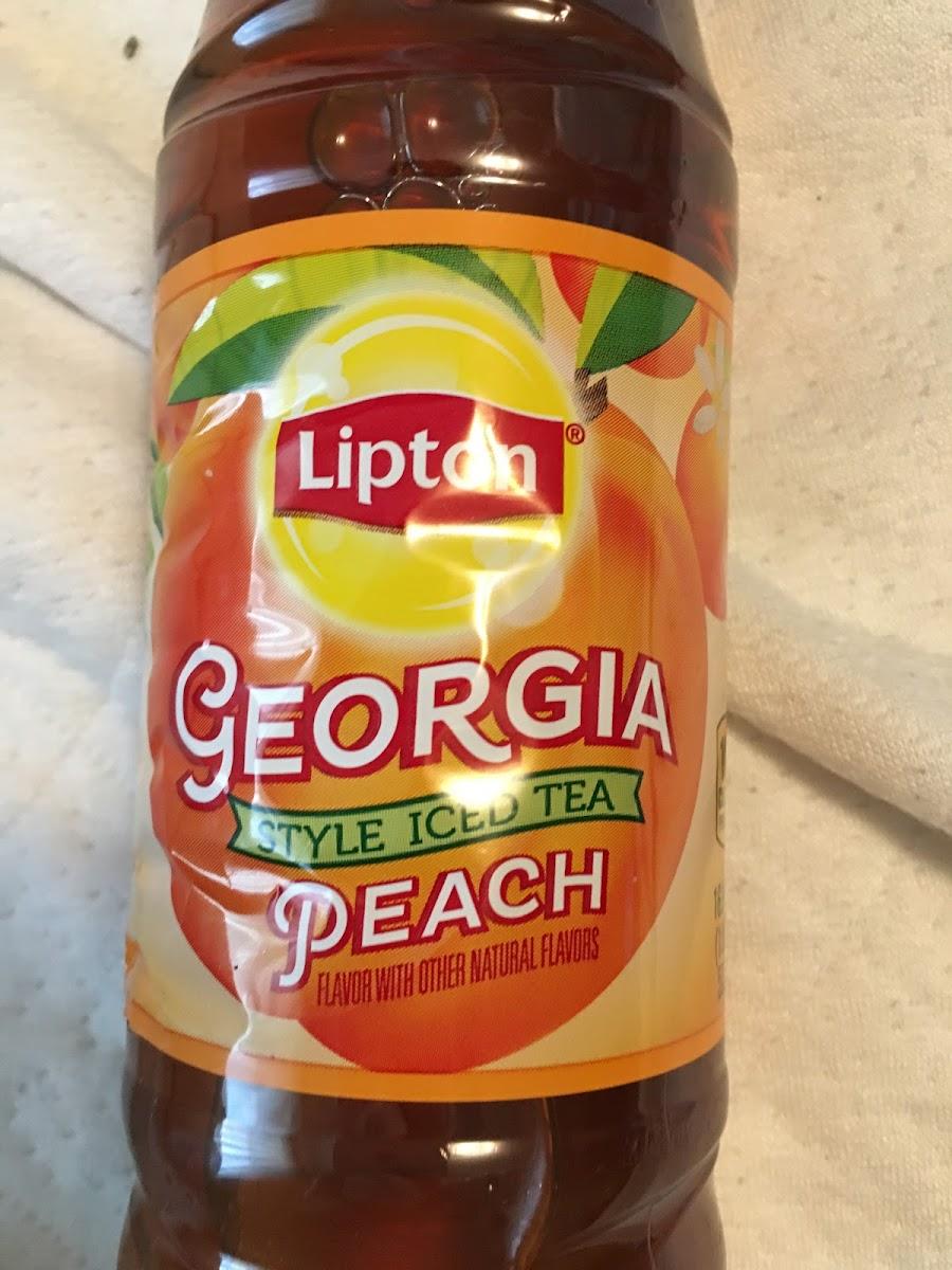 Georgia Style Iced Tea Peach