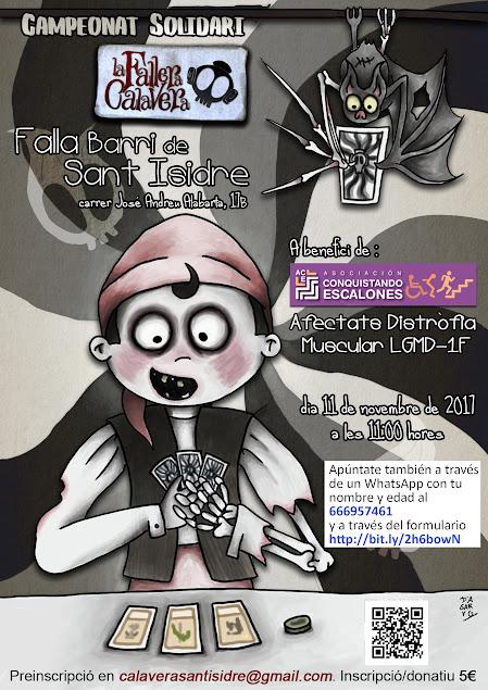 Campeonato Solidario La Fallera Calavera en Barrio San Isidro