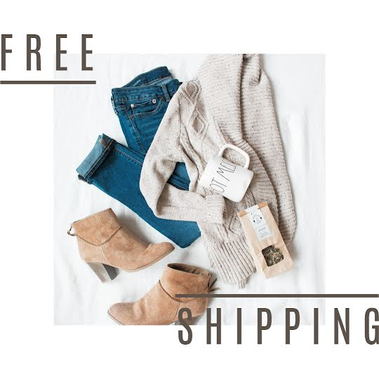 Fashion Free Shipping - Instagram Post Template