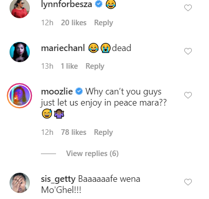Screenshot from AKA's Instagram post.
