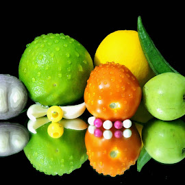 mixed items by SANGEETA MENA  - Food & Drink Fruits & Vegetables