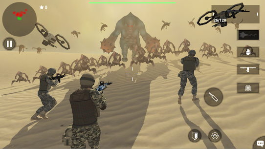 Earth Protect Squad: Third Person Shooting Game Mod 1.86.46b Apk [Free Shopping] 1