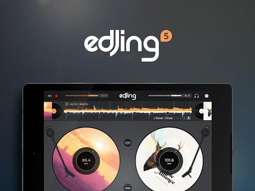 玩免費音樂APP|下載edjing 5:DJ音樂混音器控制台 app不用錢|硬是要APP