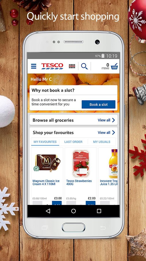 Tesco Groceries: Food Shop- screenshot