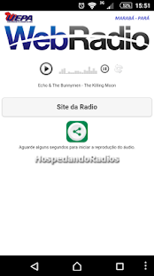 Web Rádio UEPA - MARABÁ- screenshot thumbnail