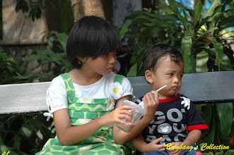 Photo: Marah untuk sang Kakak