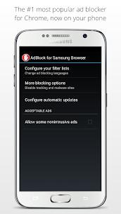 AdBlock for Samsung Internet 2.4.0 Mod APK Download 3