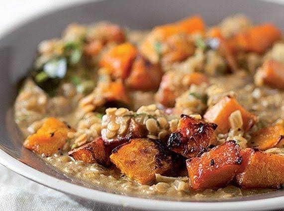 Roasted Butternut And Lentil Soup