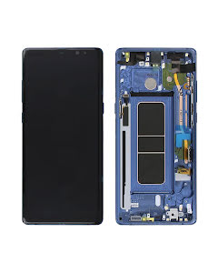 Galaxy Note 8 Display Blue