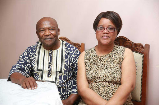 Love still strong after 40 years' marriage