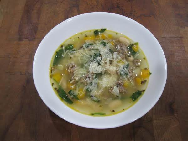 Italian Sausage And Bean Soup Recipe