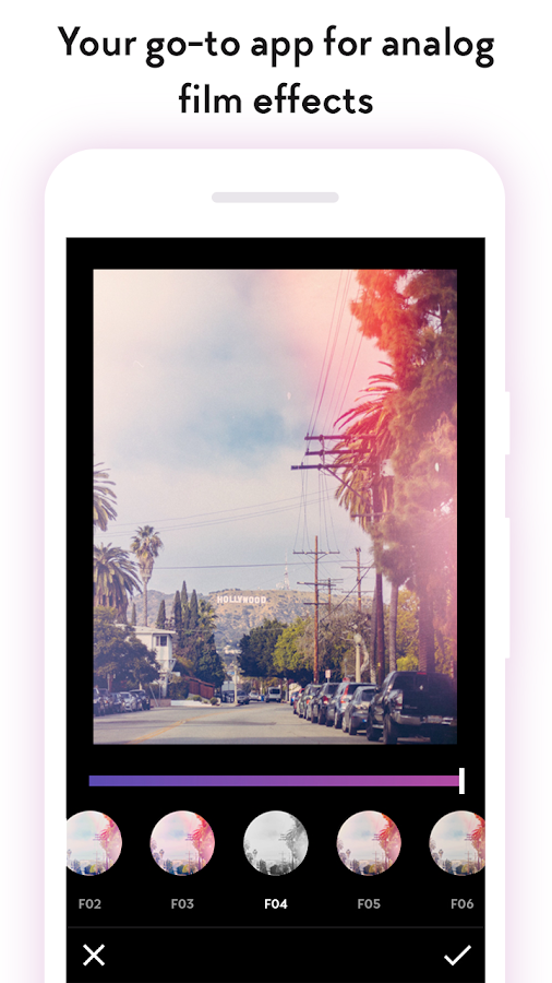 Filterloop: Photo Filters and Analog Film Effects- screenshot