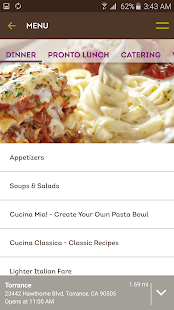 Olive garden italian kitchen android apps on google play for Closest olive garden from my location