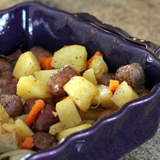 Roasted Potato and Sausage Dinner Recipe