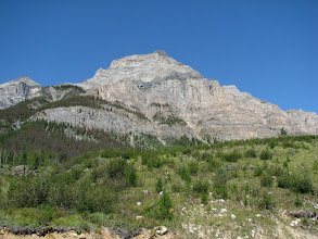 Photo: Mt. Eon as seen from the road.