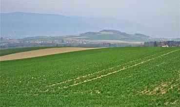 Photo: Avec ses champs à perte de vue, on a l'impression de beaucoup d'espace dans le Gros de Vaud