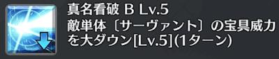 真名看破[B]