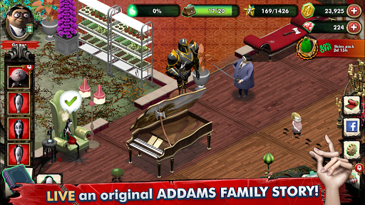 Addams Family: Mystery Mansion - The Horror House! filehippodl screenshot 1