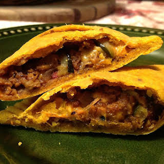 Jamaican 'Beef' Patties With Cheese [Vegan, Gluten-Free].