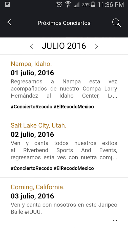 El Recodo- screenshot
