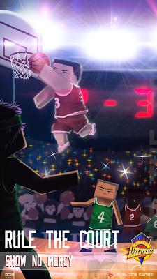 Blocky Basketball Dunk n Slams - screenshot