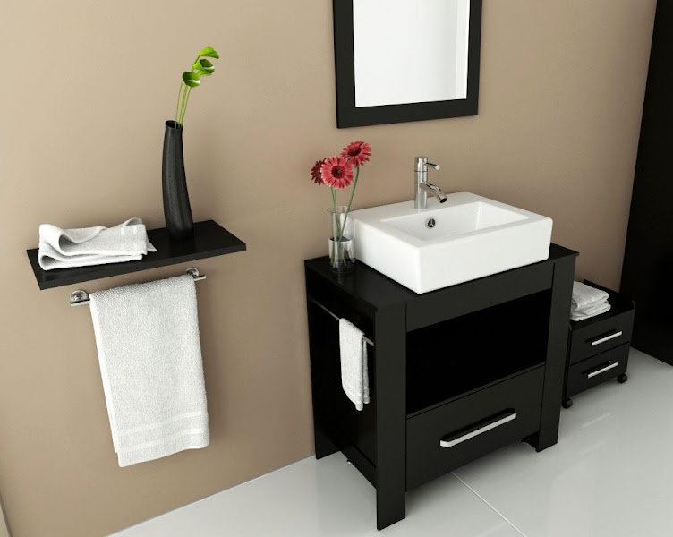 Photo: Check out a small selection of our quality modern bathroom cabinets!