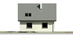 Dom przy Cyprysowej 2 bis - Elewacja lewa