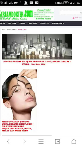 Cream Dokter Skin Care