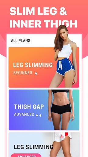 Leg Workouts for Women - Slim Leg & Burn Thigh Fat 1.0.2 screenshots 1