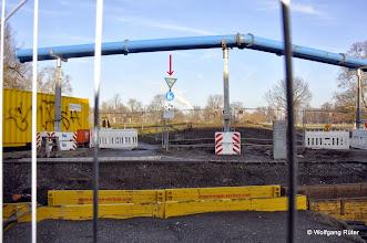 Photo: So sehen in Stuttgart FFH Landschaftsschutzgebiete aus, hier der Eingang zum Rosensteinpark an der Ehmannstraße