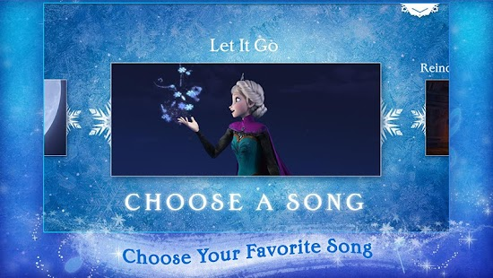 Disney Karaoke: Frozen- screenshot thumbnail