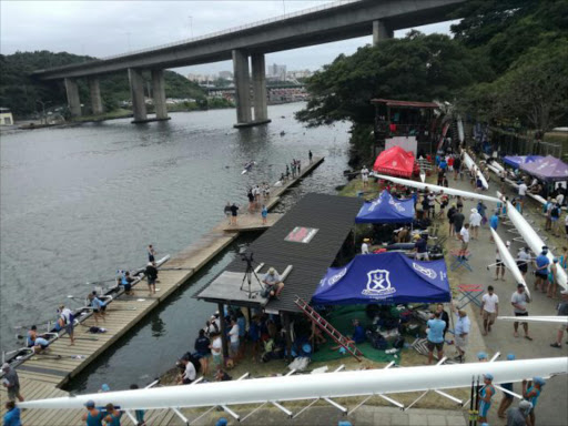 The final day of the RMB Buffalo Regatta, one of South Africa's oldest rowing competitions. Picture: TYLER RIDDING