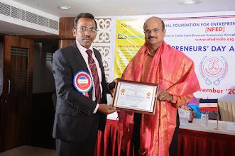 Photo: Felicitations to Mr. A.Devi Dutt, Chief Guest