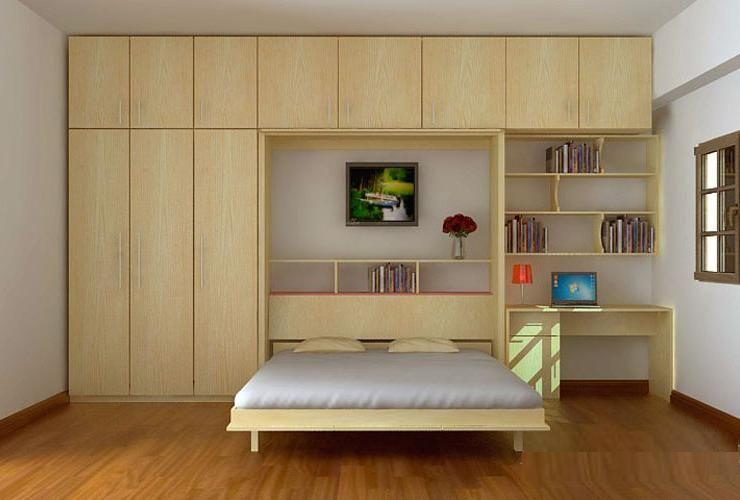 Giường gấp giúp giải phóng không gian