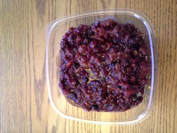 Cranberry Sauce Extraordinaire Recipe