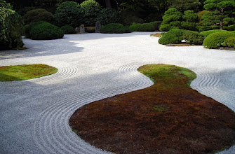 Photo: Flat Garden, Japanese Garden, Washington Park, Portland