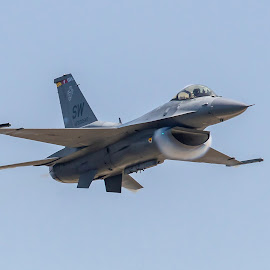 F-16 Viper by Don Young - Transportation Airplanes ( air show, blue angels, mississippi, biloxi, airplanes,  )